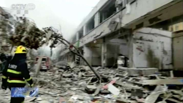 12 killed, 150 injured in powerful gas explosion in central China