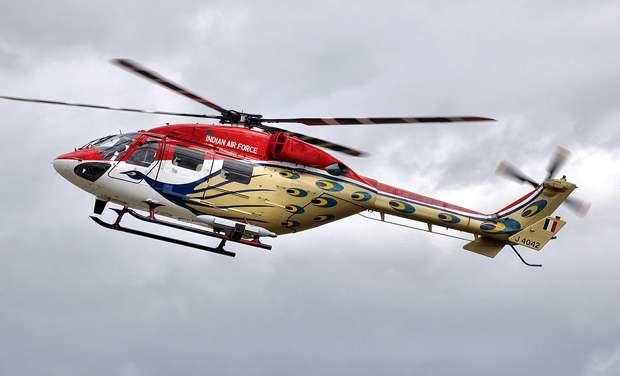 Dhruv helicopter emergency landing, ladakh emergency landing, IAF helicopter emergency landing,