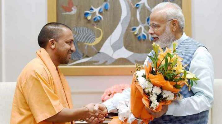 adityanath meeting pm modi