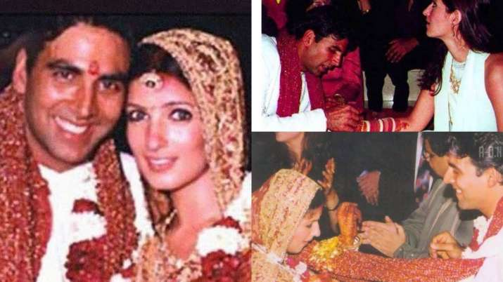 Akshay Kumar-Twinkle has gone VIRAL without seeing photos of Khanna's wedding