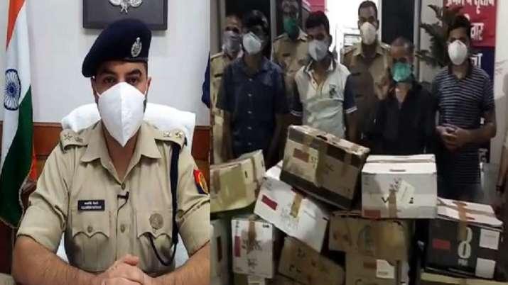 UP Police makes arrest in the Aligarh Hooch tragedy case.