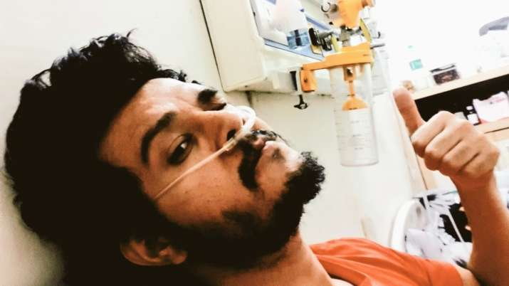 Patiala Babes actor Aniruddh Dave shares first selfie after coming out of ICU, writes 'the battle is