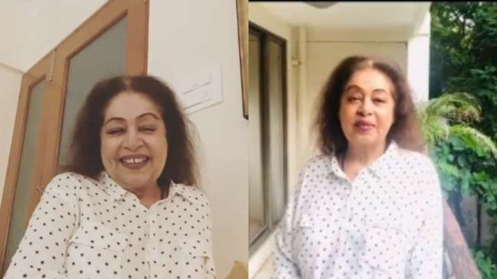 Kirron Kher thanks Anupam Kher son Sikander Kher on Instagram video for fans for his birthday
