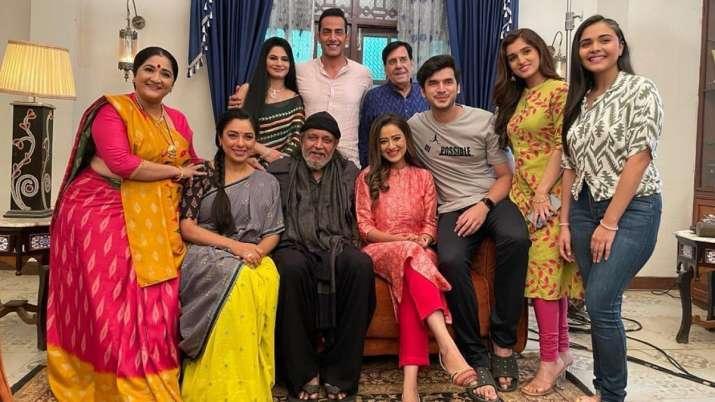 Anupamaa: Mithun Chakraborty surprises daughter-in-law Madalsa Sharma by paying visit   PICS