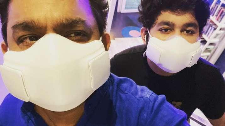 AR Rahman receives first jab of COVID-19 vaccine