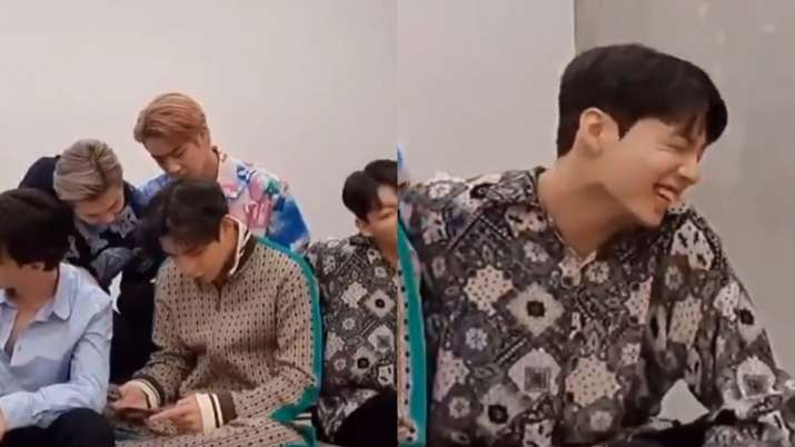 BTS' Suga gets marriage proposal from an ARMY, Jungkook can't control his laughter. Watch video