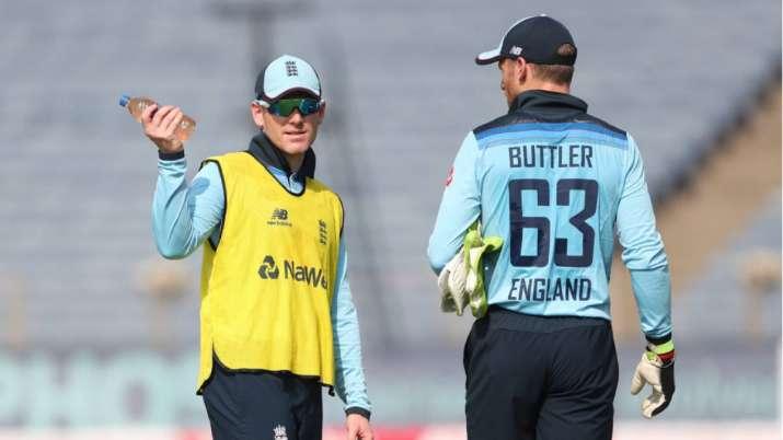 ECB begins investigating Eoin Morgan, Jos Buttler tweets mocking Indians; Anderson deletes controversial post | Cricket News – India TV