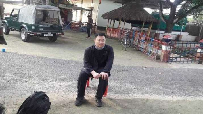 The chinese national is being interrogated by officials