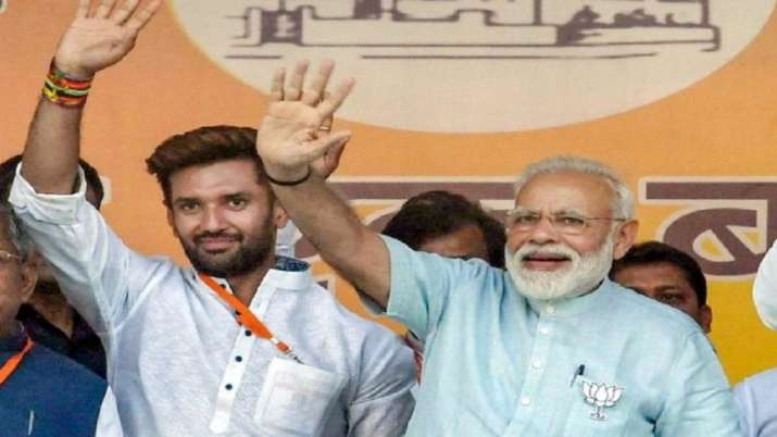 The BJP has maintained that the LJP crisis is an internal matter of the regional party