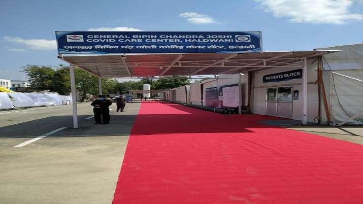 India Tv - DRDO, 500 bed Covid Care Centre, inauguration of covid centre, Uttarakhand, Haldwani, coronavirus pa