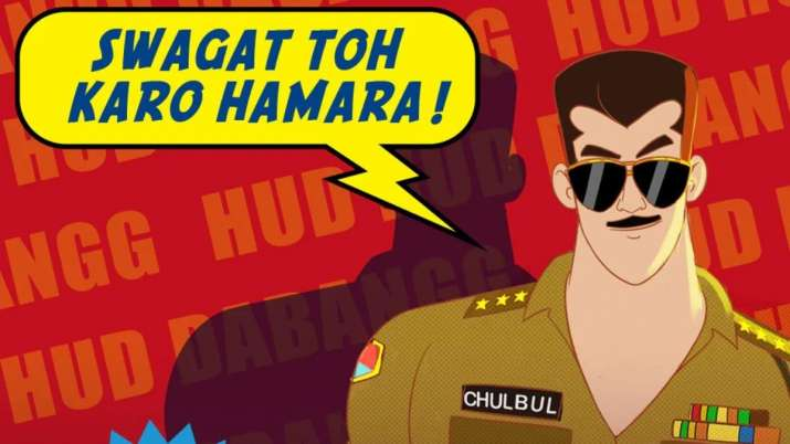 Salman Khan's Chulbul Pandey comes to OTT platform in animated avatar