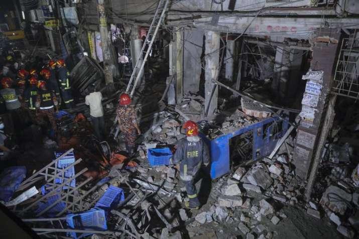 dhaka explosion