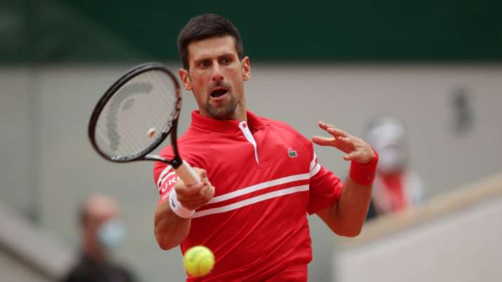 French Open: Djokovic sails into pre-quarters, faces teenager Musetti
