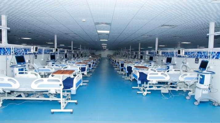 DRDO's 500-bed Covid Care Centre inaugurated in Haldwani.