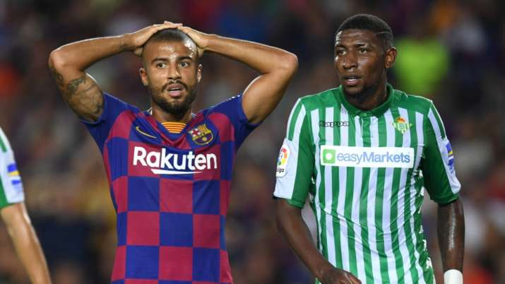 Barcelona recalls right back Emerson from Betis loan