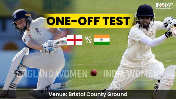 England Women vs India Women Test Day 1 live streaming: How to watch ENG-W vs IND-W live online