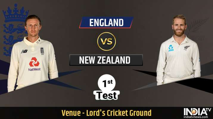 Live Streaming Cricket England vs New Zealand 1st Test Day 1: Watch Lord's Test Online on SonyLIV
