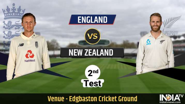 England vs New Zealand 2nd Test Day 2 Live Streaming: When and where to watch Edgbaston Test in Indi