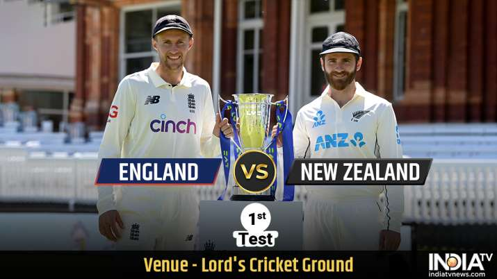 Live Cricket Score, England vs New Zealand 1st Test Day 1: Follow Live Updates from Lord's