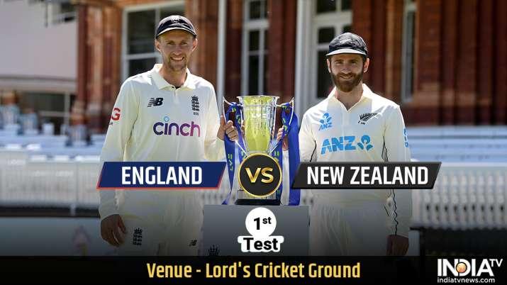 LIVE Cricket Score England vs New Zealand 1st Test Day 5: