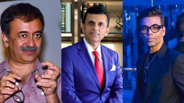 Rajukumar Hirani, Anand Pandit, Karan Johar