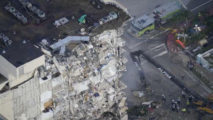 Florida condo building collapse, Death toll, death toll mounts, twelve death, building damaged, flor
