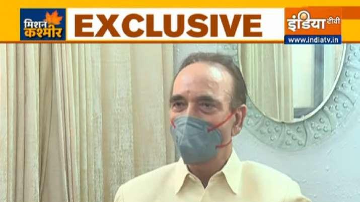 Ghulam Nabi Azad Exclusive
