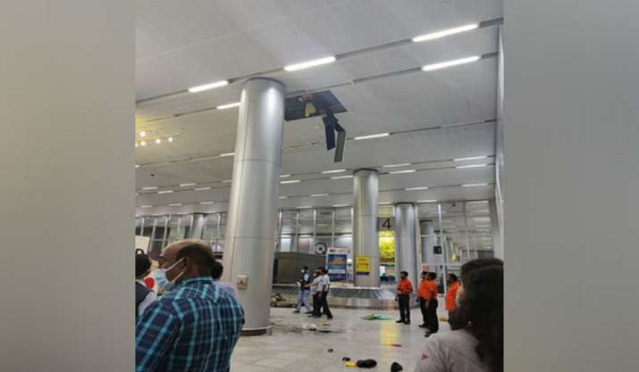 Man cleaning drainage pipeline at Hyderabad airport dies