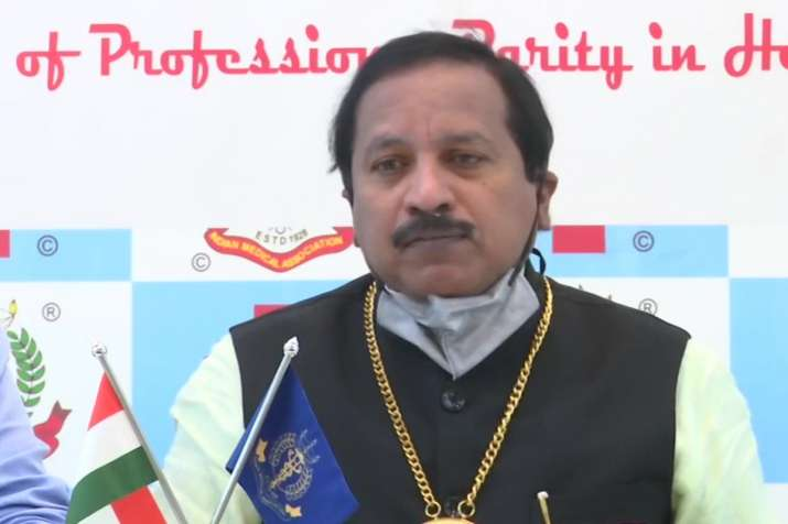 News agency ANI quoted IMA President Dr JA Jayalal, as