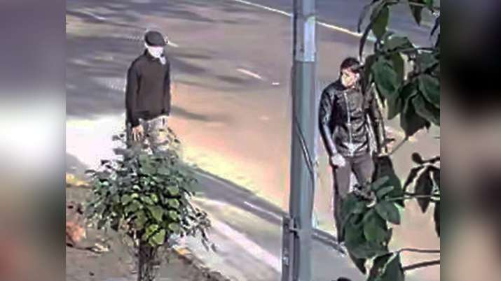 Two suspects captured in CCTV.