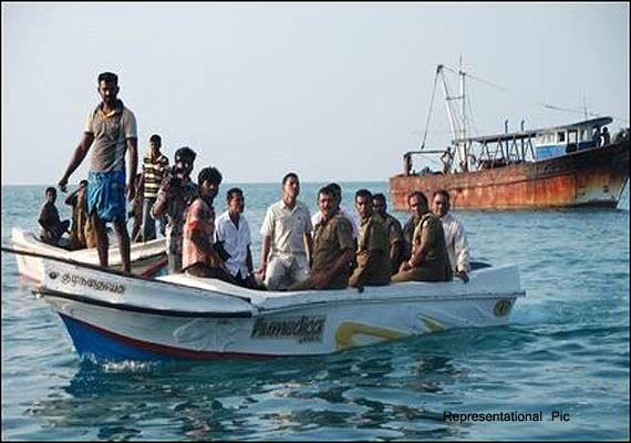 A group of 13 local fishermen claimed that they had
