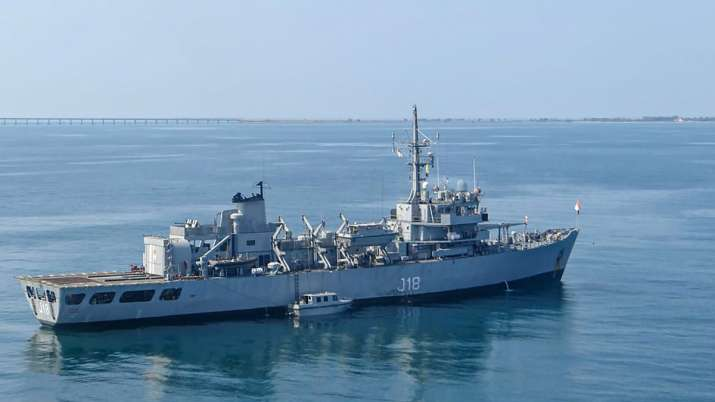 INS Sandhayak, Indian Naval ship, decommissioned, Friday, Indian Navy, Commanding Officer, Covid pro