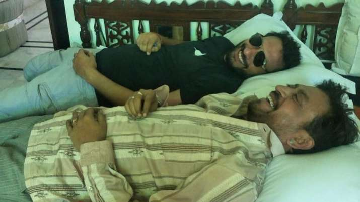 Babil shares pictures of father Irrfan Khan