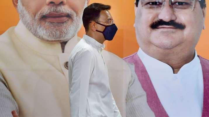 Jitin Prasada joined BJP on Wednesday
