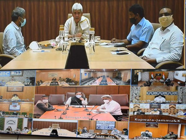 J&K LG Manoj Sinha directs officers to expedite COVID