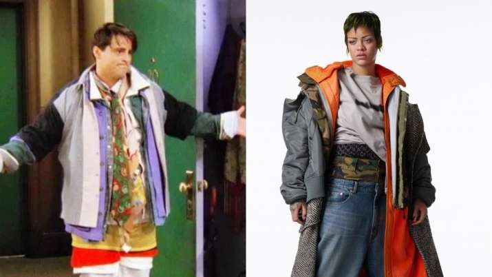 Who wore it better Rihanna or Joey?