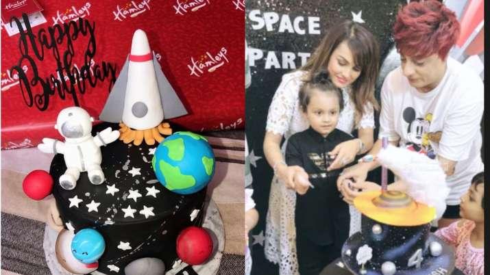 After Karan Mehra, Nisha Rawal's pictures celebrating son Kavish's birthday go viral amid legal batt