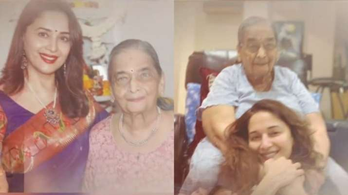 Madhuri Dixit shares adorable video as she wishes mother on birthday. Watch it here