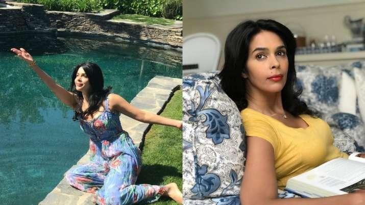 Step inside Mallika Sherawat's Los Angeles beautiful villa. See viral pics, videos