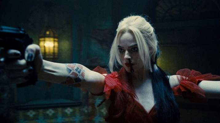 Still of Margot Robbie from The Suicide Squad trailer