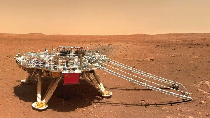 The first batch of scientific images of the rover were