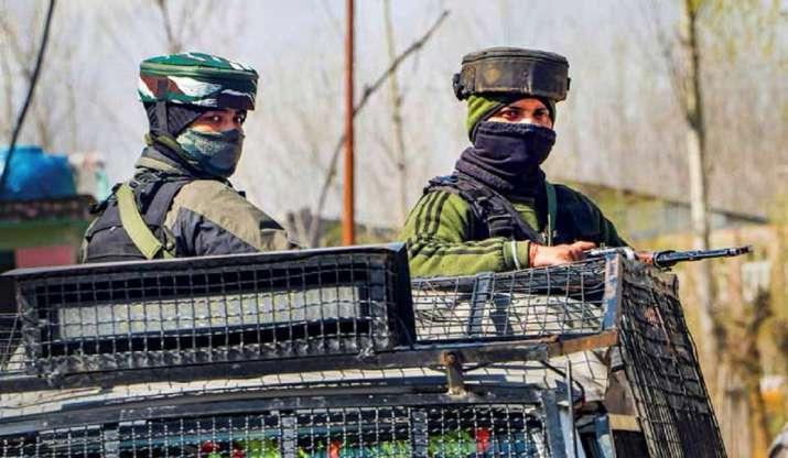 Militant who shot at cop killed in encounter in J&K's