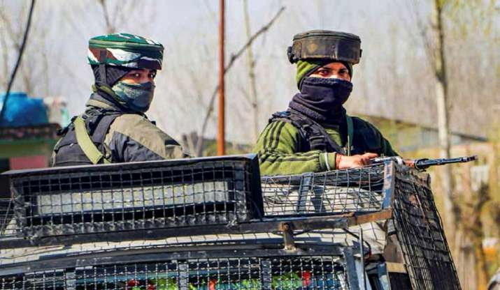 J&K: Two terrorists eliminated by security forces in