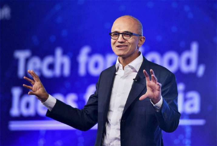 Chief Executive Officer Satya Nadella is now new chairman of Microsoft Corp