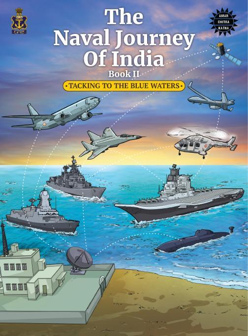India Tv - Amar chitra katha, indian navy, amar chitra katha, amar chitra katha indian navy early years, amar c