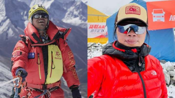 Meet 1st blind Asian & Hong Kong teacher who become record-setting climbers of Mt.Everest