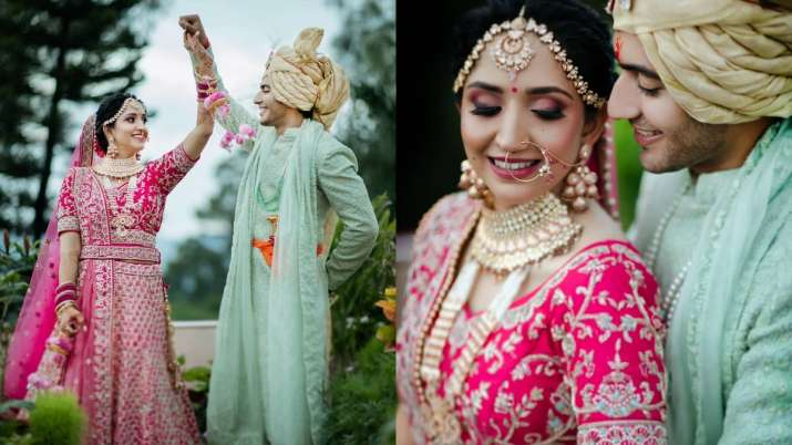 Pandya Store actor Akshay Kharodia's fairytale wedding with girlfriend Divya Punetha; see pics