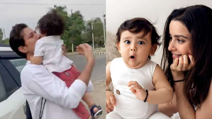Sumeet Vyas, Ekta Kaul pen heartfelt wishes with adorable videos on son Ved's first birthday. Watch