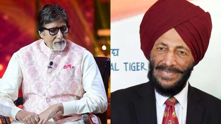Amitabh Bachchan shares last page of Milkha Singh's book, calls him 'An inspiration for all'