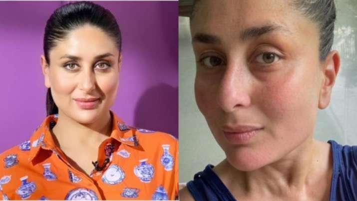 """Kareena Kapoor Khan has taken a wonderful selfie without makeup after a """"beautiful walk"""""""